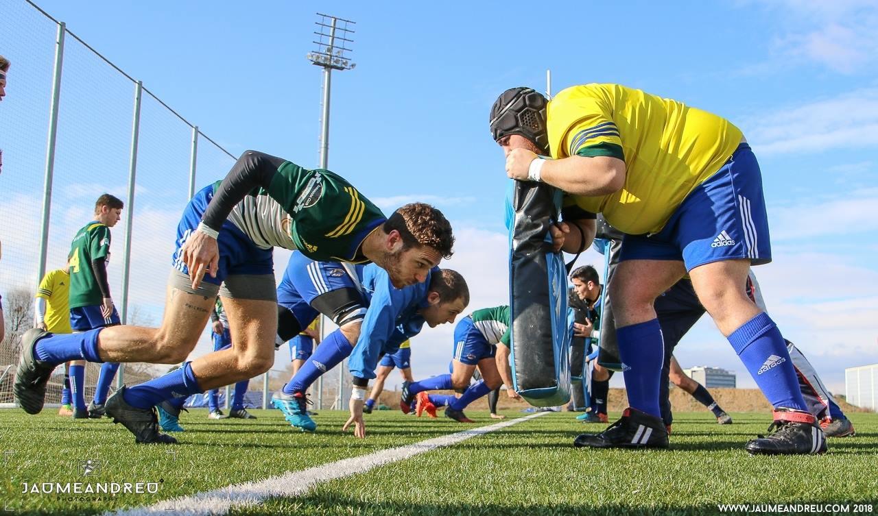 El rugby català espera amb prudència arrencar les competicions. Jaume Andreu